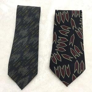 Vintage Georgio Armani men's ties